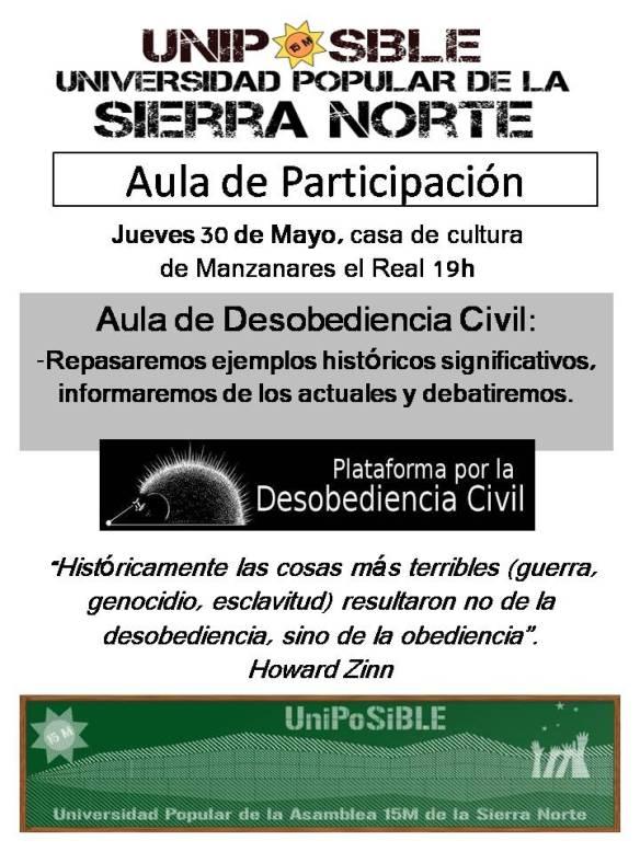 Aula de Participación desobediencia civil1