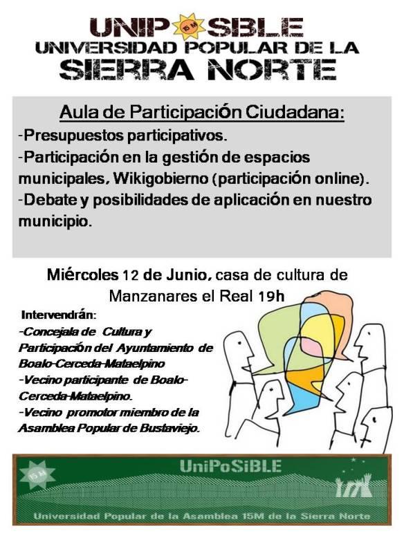 Aula de Participación ciudadana